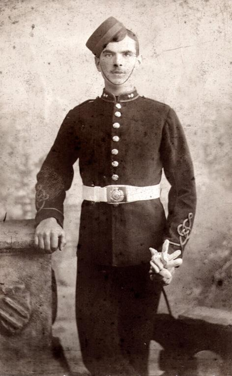 Herbert Charles Nuthall in uniform