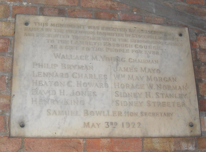 Stockwell War Memorial committee