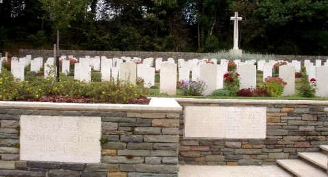 St Leger British Cemetery, courtesy of Peter Bennett