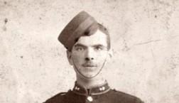 Herbert Charles Nuthall in uniform