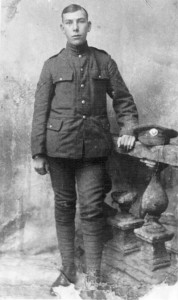 world war 1 soldier christopher dartnell